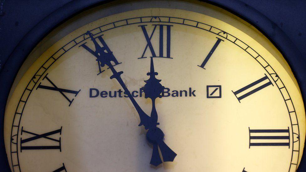 Deutsche Bank clock