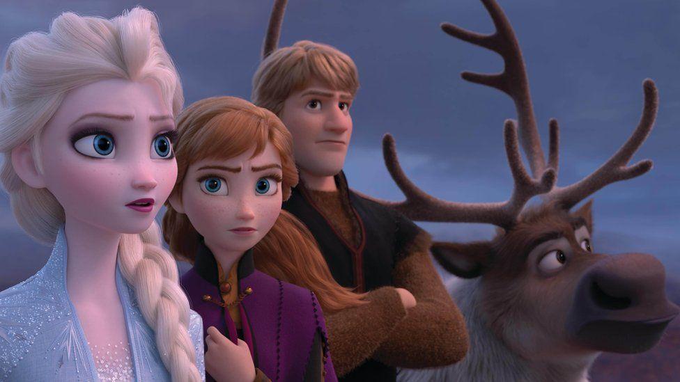 A still from Frozen 2