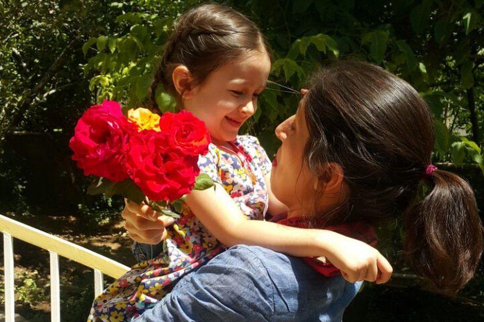 Nazanin and daughter
