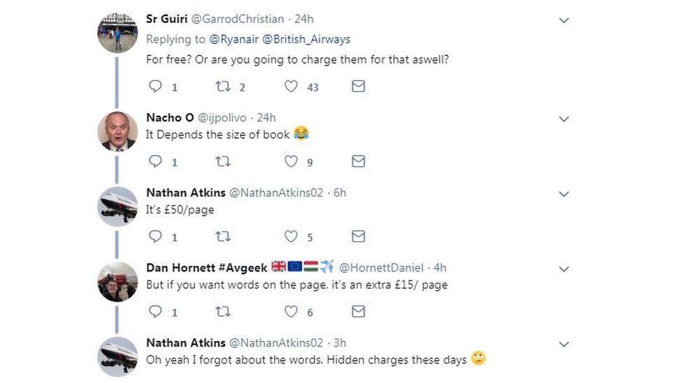Tweet reply to Ryanair