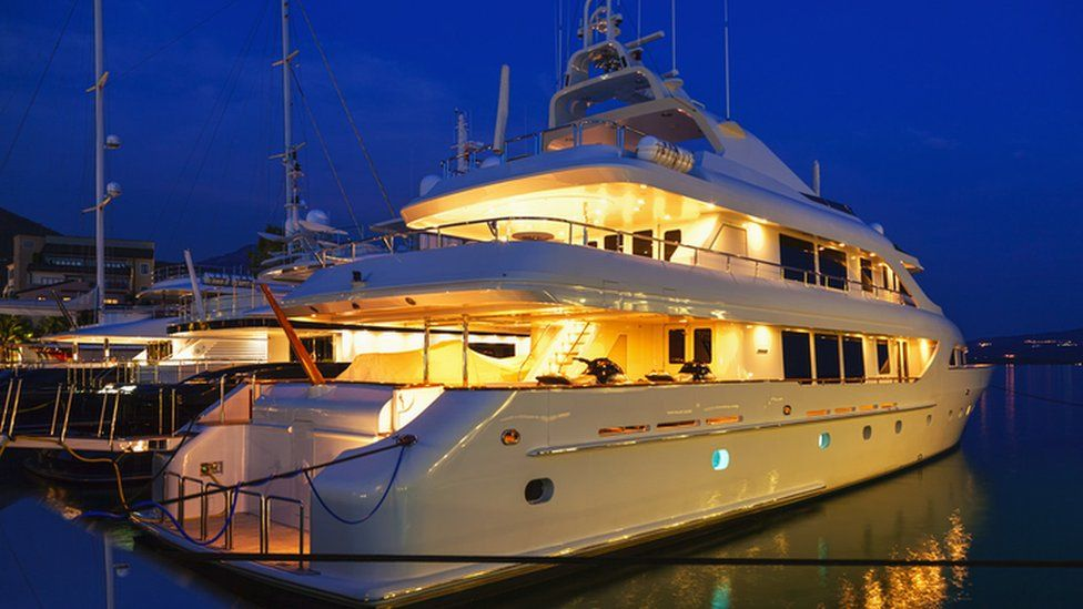 Drive To Attract Superyachts To Scotland Sets Sail Bbc News