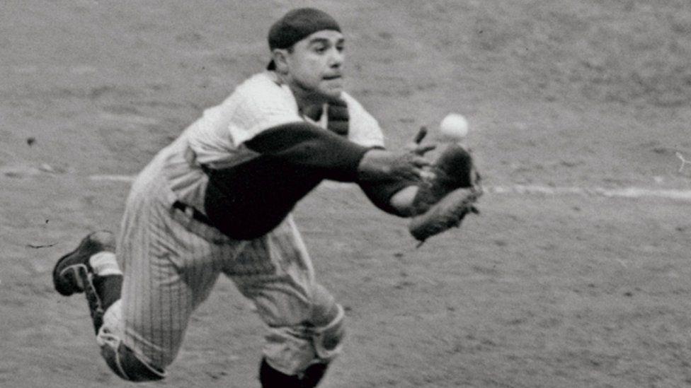 Yogi Berra in 1962