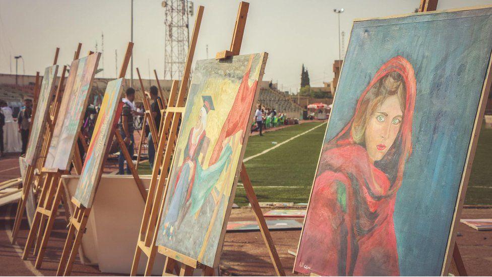 Mosul Peace Festival art pavilion (Sept 2017)