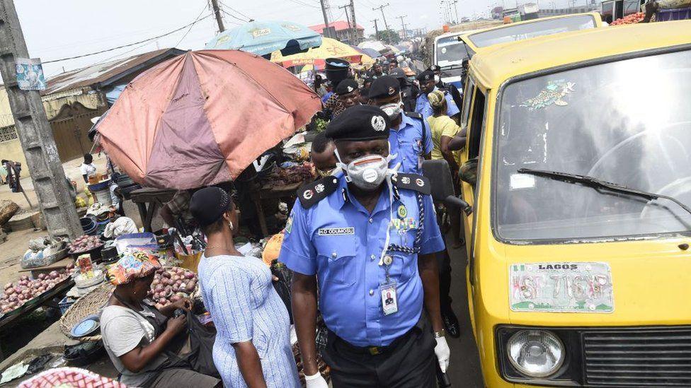 Street scene in Lagos