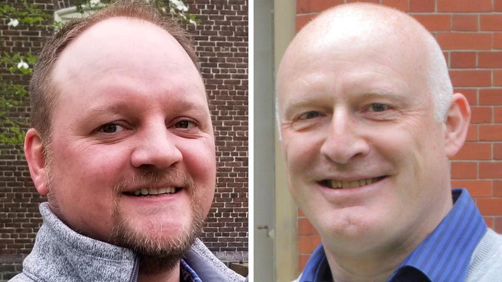 Dr James Mossman and Professor Allan Pacey