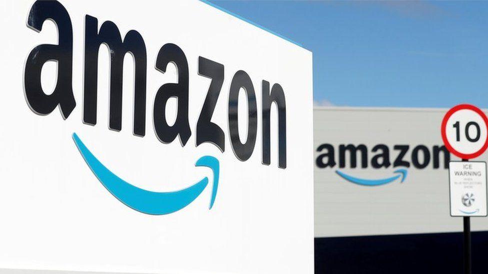 Amazon warehouse in Darlington