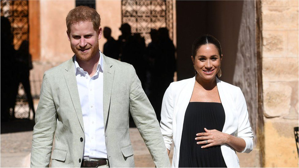 The Duke and Duchess of Sussex in Morocco, February 2019