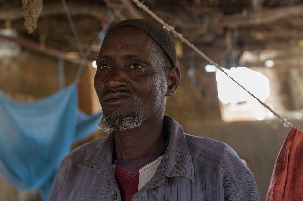 Hamadou Seydou at home in Norandé