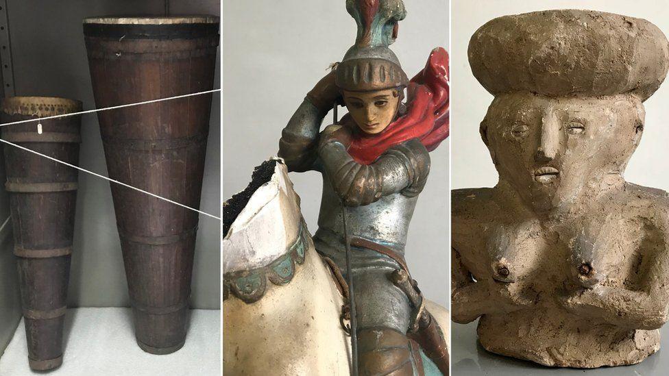 A longa luta para tirar objetos sagrados de matriz africana do Museu da Polícia, que os confiscou há mais de um século