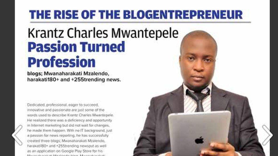 Krant Mwantepele