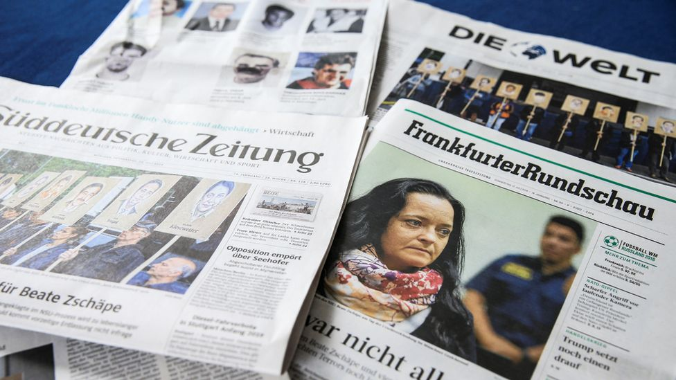 German newspaper front pages 12 July 2018
