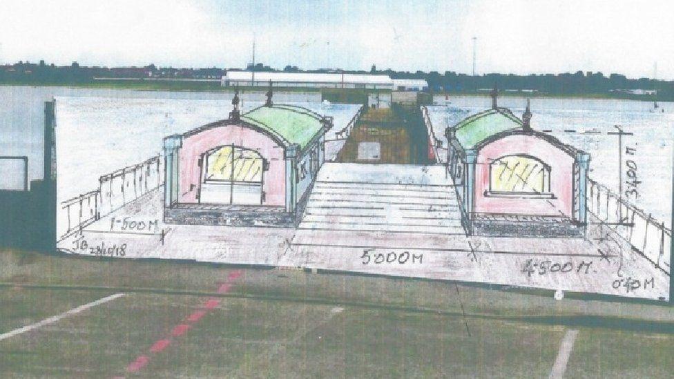 Possible designs for Shotley Pier
