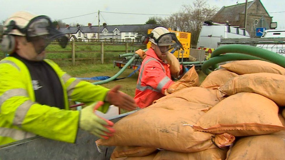 Natural Resources Wales takes part in the exercise