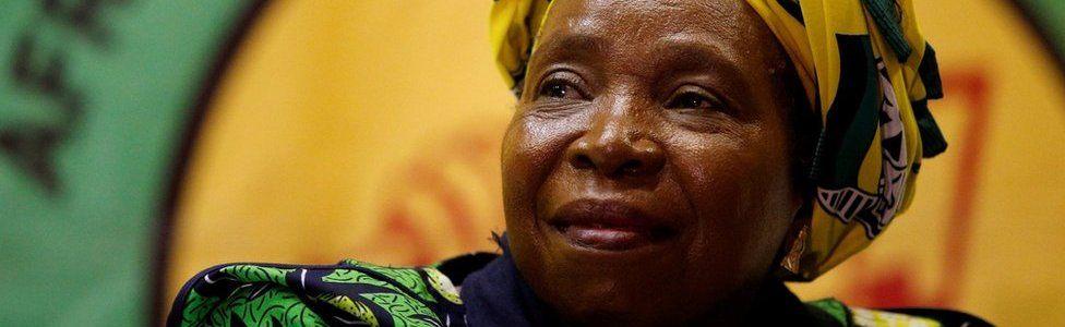 Nkosazana Dlamini-Zuma at ANC Youth League meeting in Durban 20/04/2017