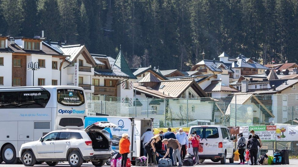 The outbreak at Ischgl in Austria led to 800 Austrians being infected and up to twice as many abroad