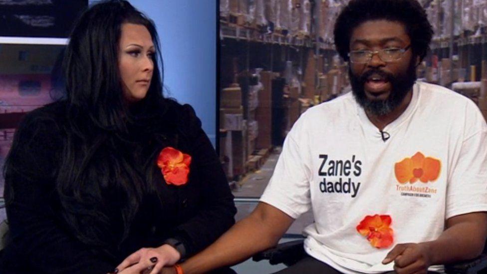 Zane's parents, Kye Gbangbola and Nicole Lawler