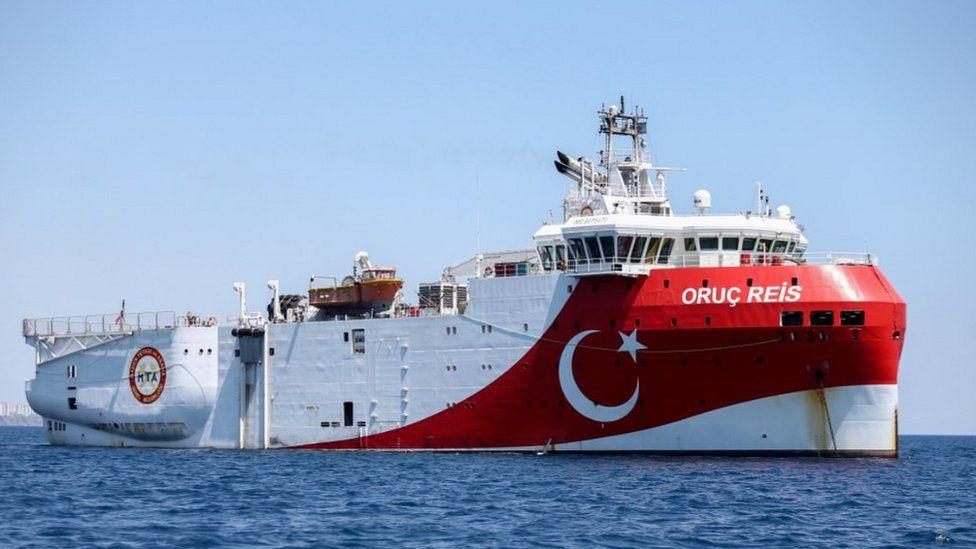 Oruc Reis survey ship, 23 Jul 20