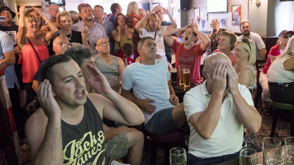 Manchester fans react