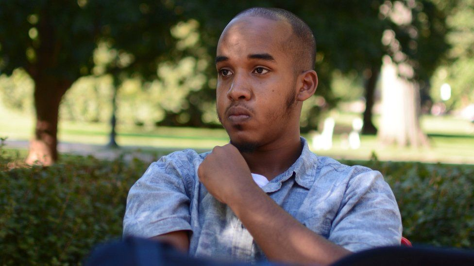 Abdul Razak Ali Artan pictured in the student newspaper The Lantern in Columbus, Ohio.