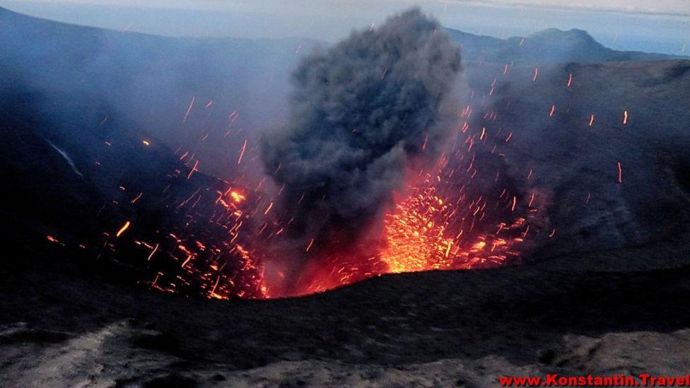 Вулкан Ясур, Вануату
