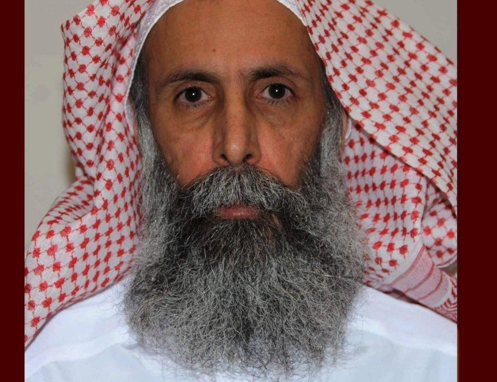A profile photo of Sheikh Nimr al-Nimr released by the Saudi Press Agency
