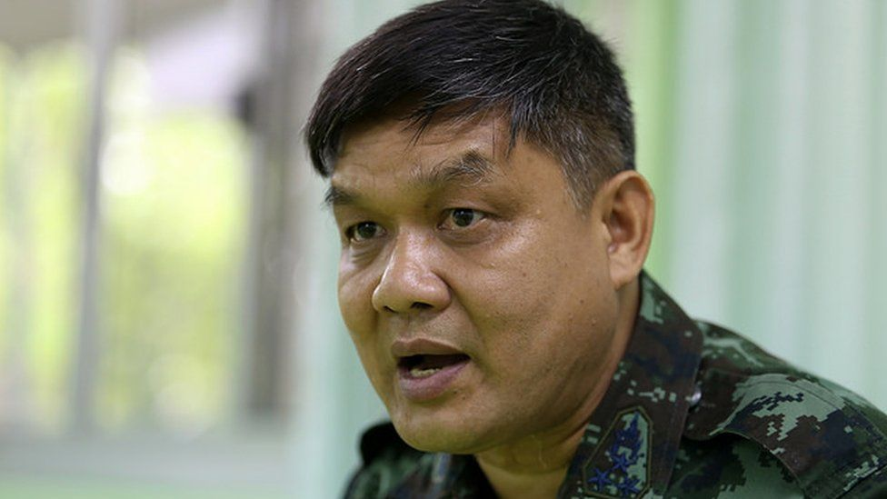 Colonel Suwan Chirdshai of the Internal Security Operations Command (ISOC) Region 4 in Thailand