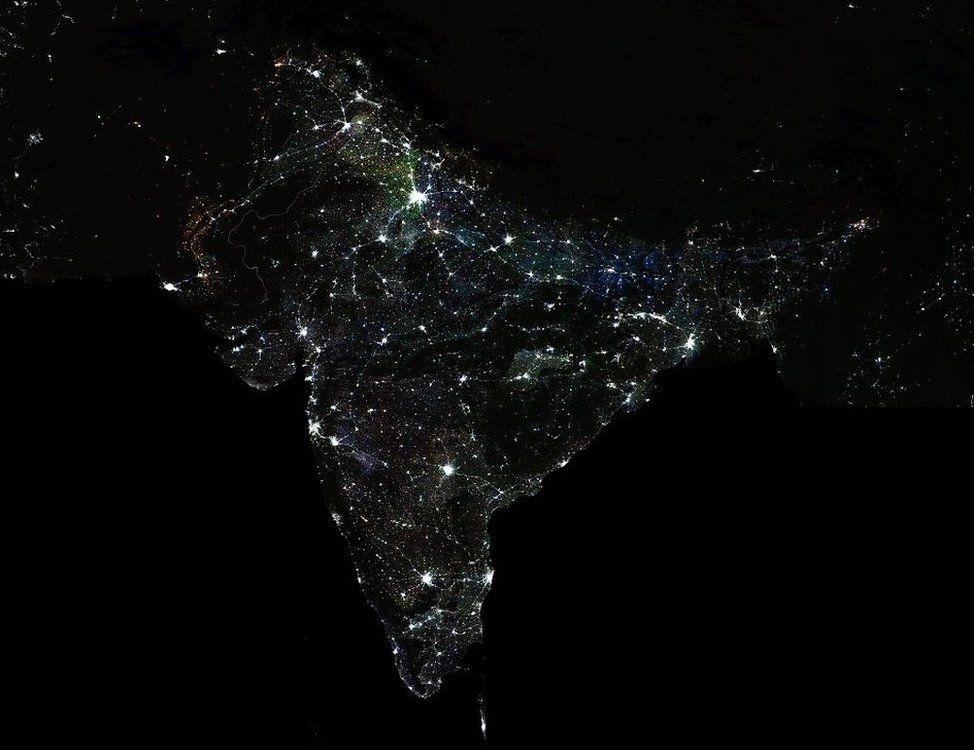 India night lights