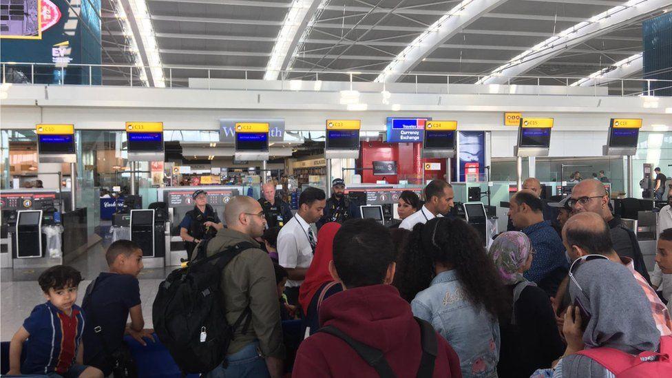 British Airways flights to Cairo cancelled