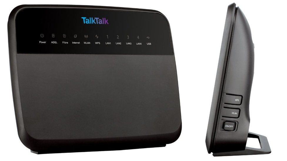TalkTalk router