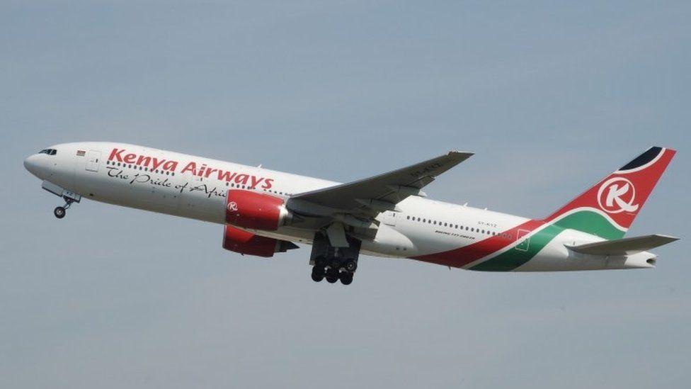 Kenya Airlines plane