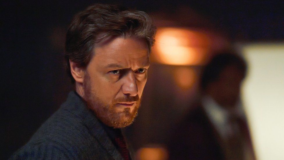 James McAvoy plays Lord Asriel