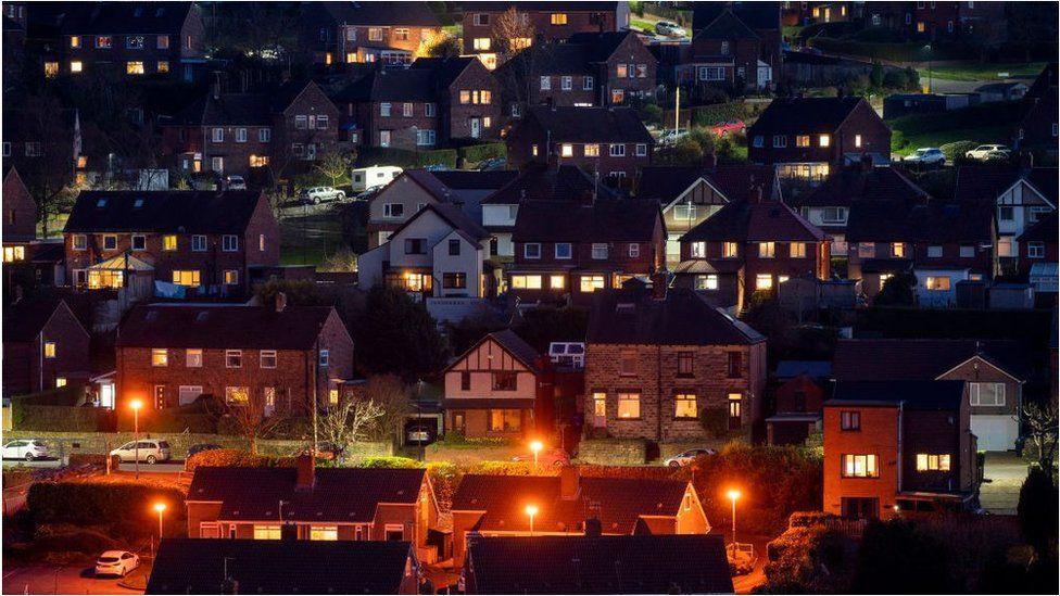 The town of Stocksbridge