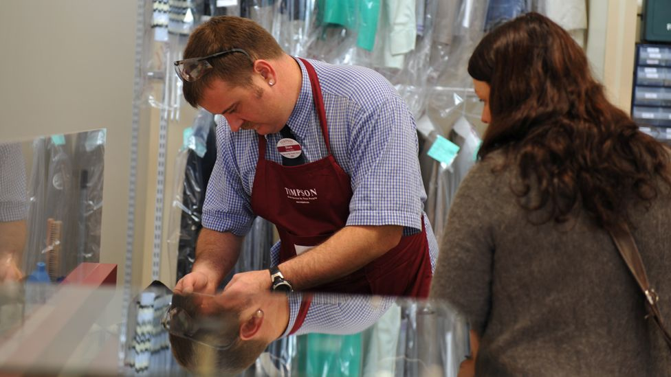 A Timpson member of staff