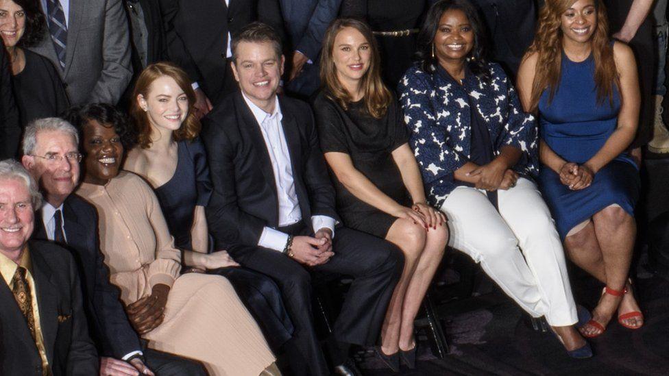 Emma Stone, Matt Damon, Natalie Portman, Octavia Spencer
