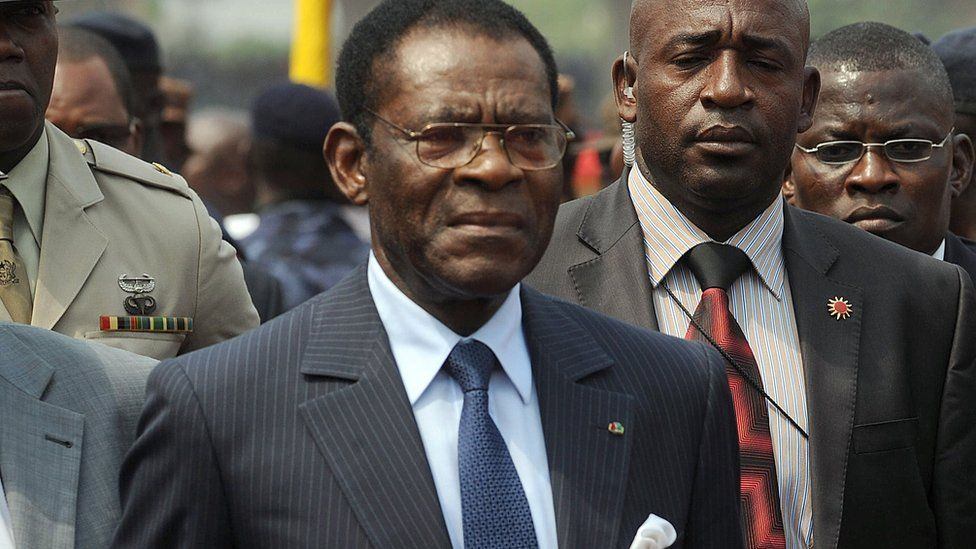 Equatorial Guinea President Obiang Nguema Mbasogo
