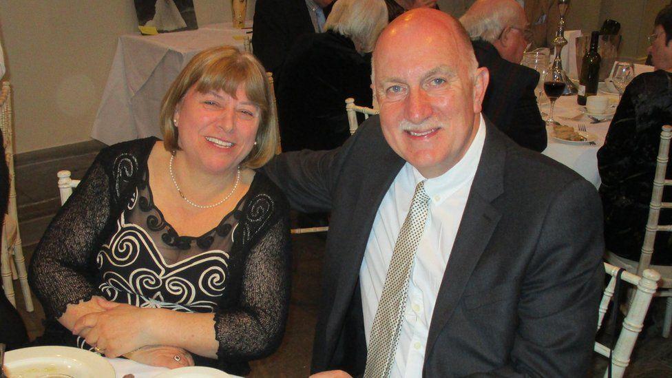 Jill and Peter Baker