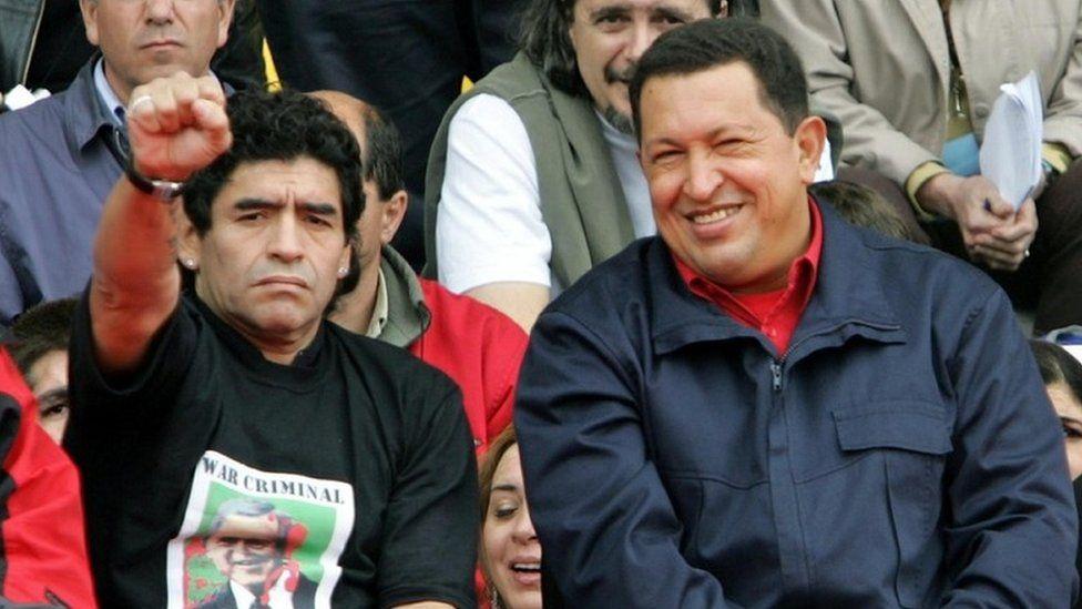 Maradona signed by Venezuelan TV for World Cup show - BBC News