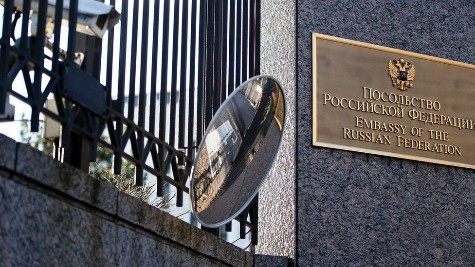 The Russian Embassy in Washington DC