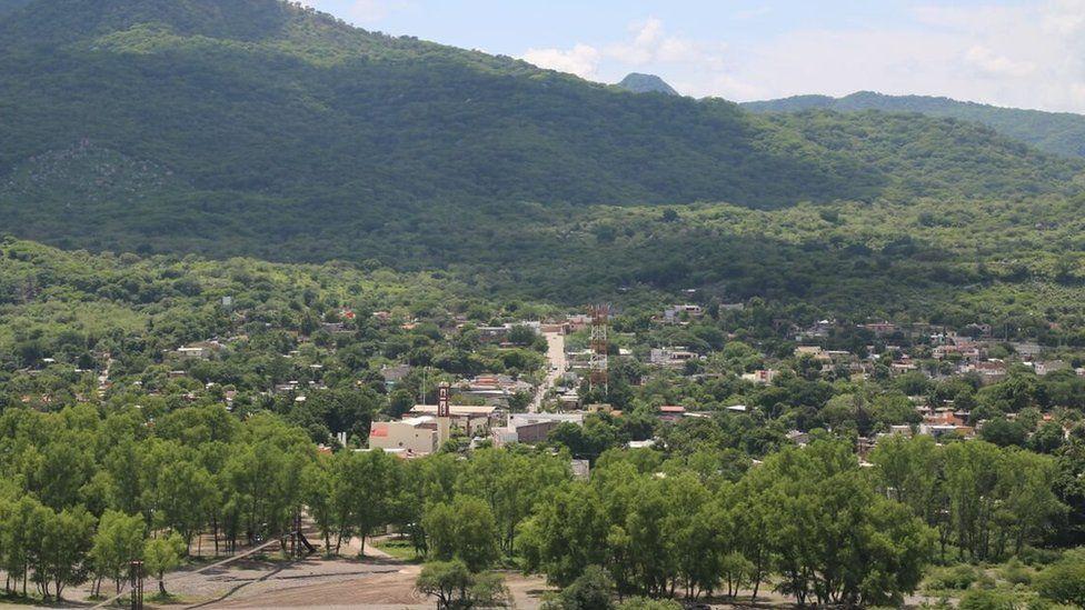 Badiraguato in Mexico