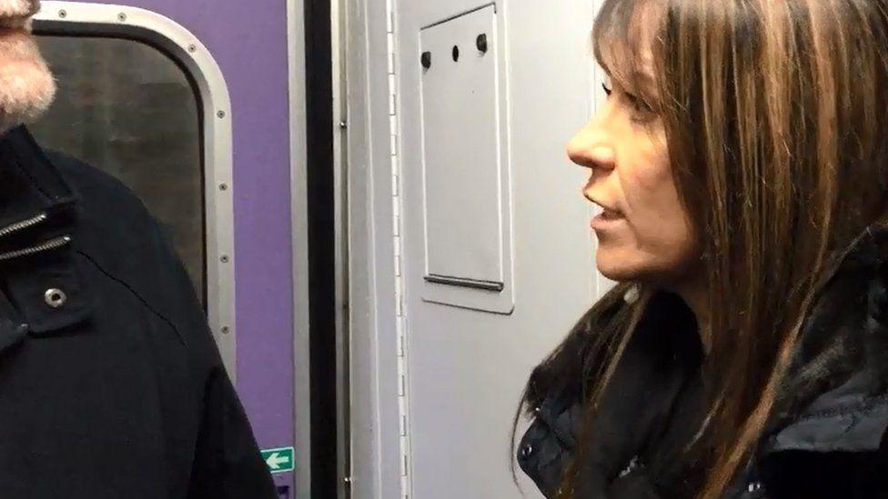 lisda on barrhead train