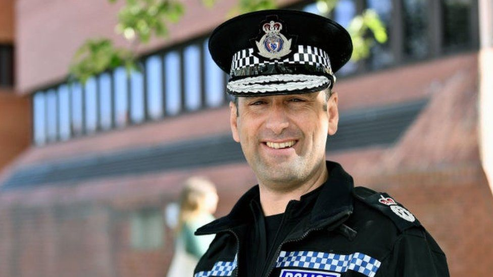 Cleveland Chief Constable Richard Lewis