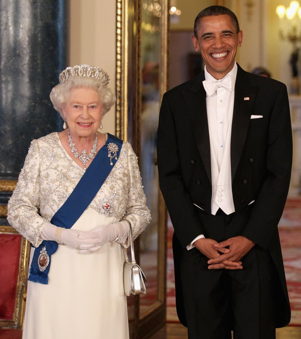 The Queen and President Obama in May 2011