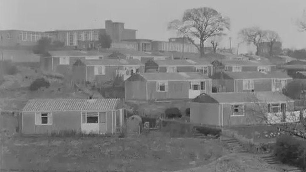 Prefabs in Newport in the late 1960s