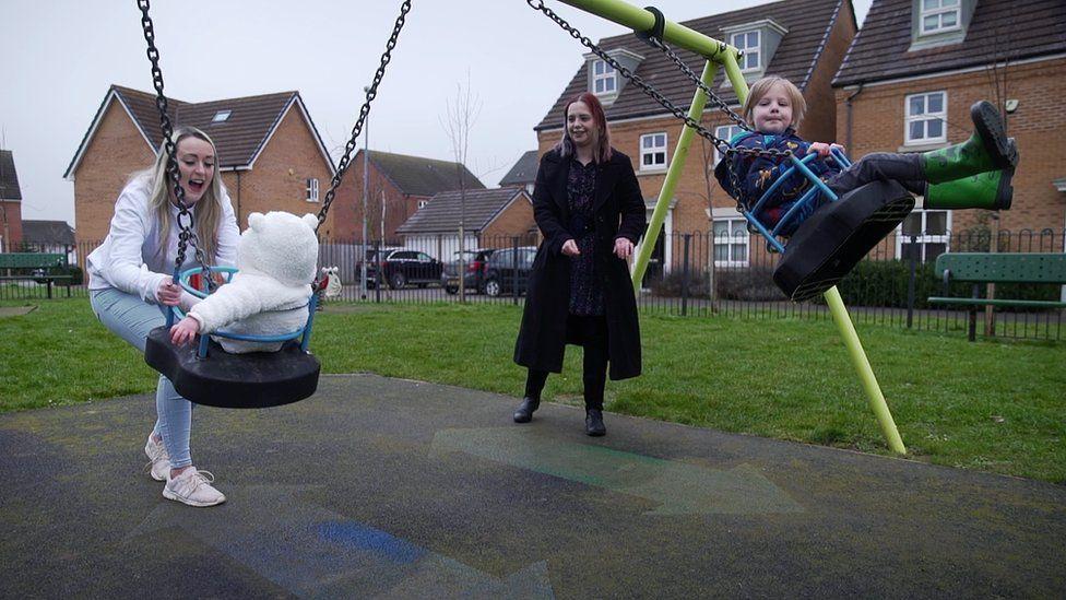 Danielle Allen and Victoria Fallow-Norton