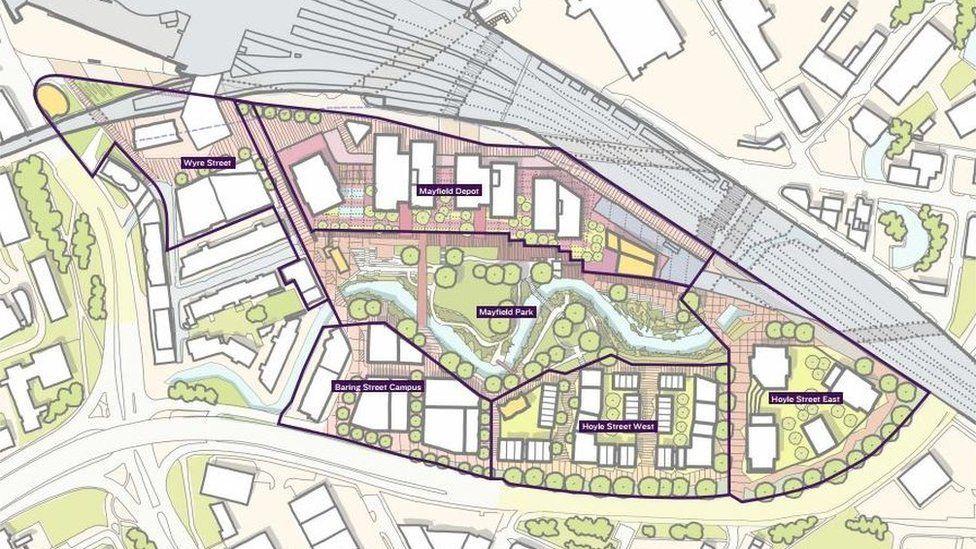 Park plan Manchester
