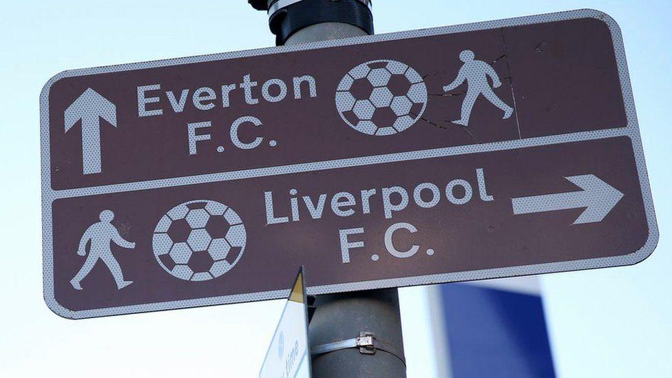 Football ground street signs