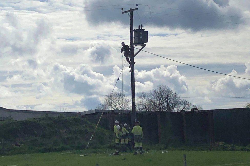 SP Energy Networks engineers