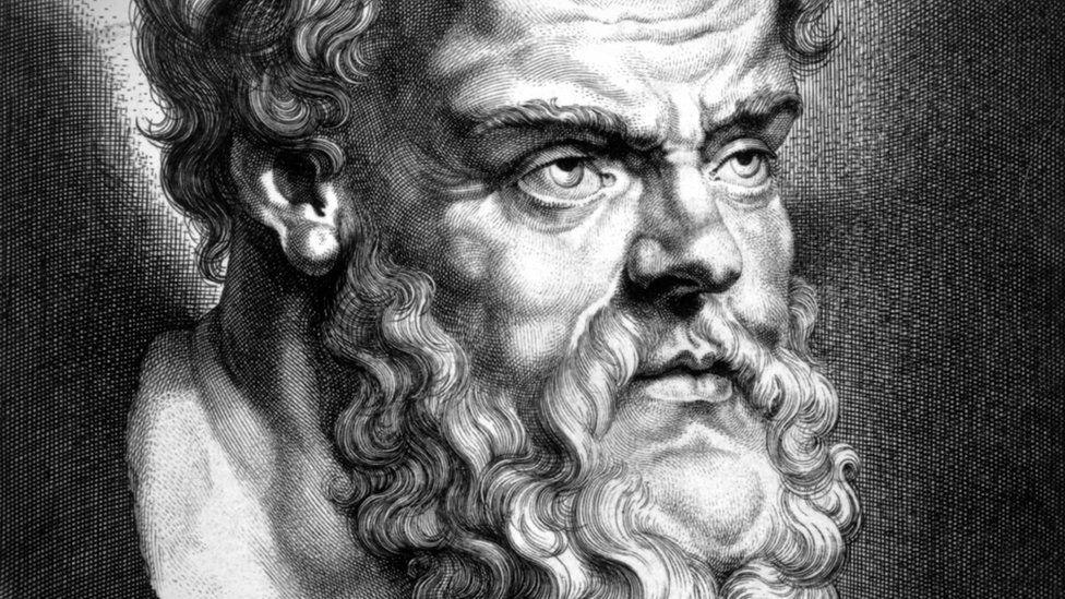 Socrates, yr athronydd Groegaidd