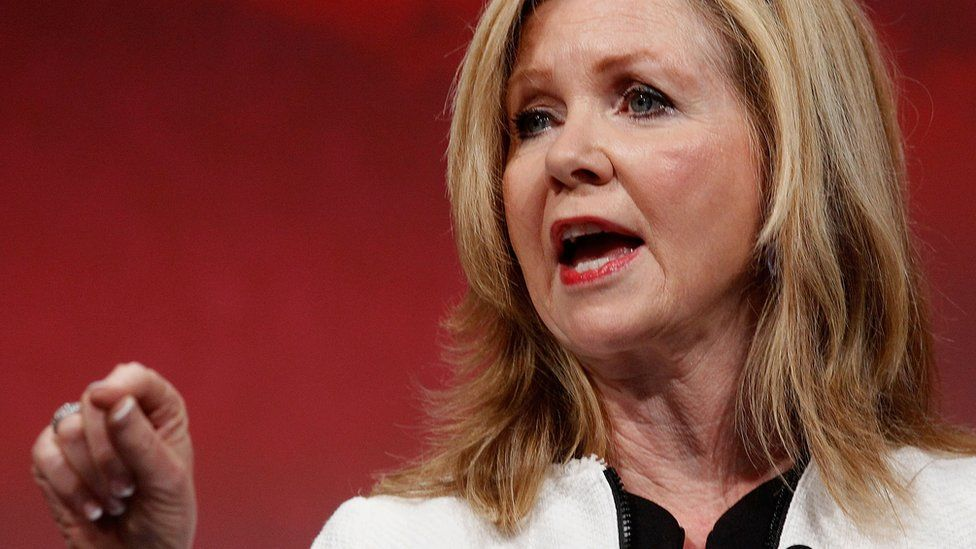 U.S. Congressman Marsha Blackburn speaks at the Defending the American Dream Summit sponsored by Americans For Prosperity at the Omni Hotel on August 29, 2014