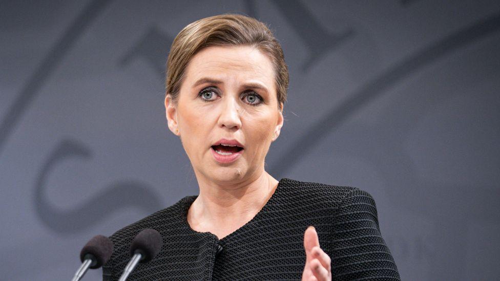 Danish Prime Minister Mette Frederiksen, 8 Jan 20